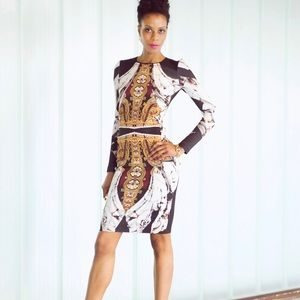 Clover canyon designer dress size l